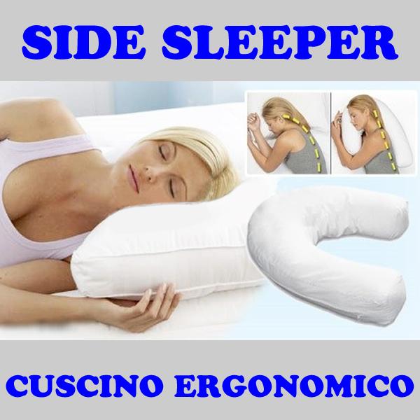 Laterale cuscino forma guanciale di a u migliora sonno cervicale schiena letto g ebay - Mal di schiena letto ...