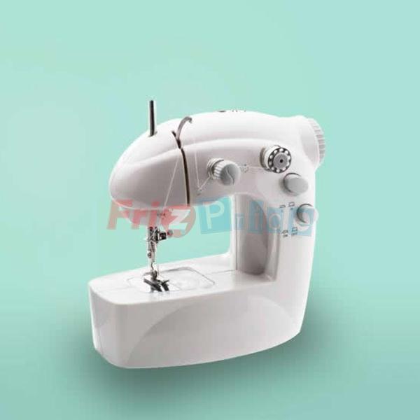 Mini macchina da cucire portatile 4 in 1 da viaggio sarta for Macchina cucire pedale