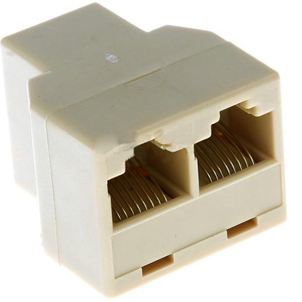 duplizierer rj45 kabel splitter di ethernet netzwerk internet verl ngerung tt ebay. Black Bedroom Furniture Sets. Home Design Ideas