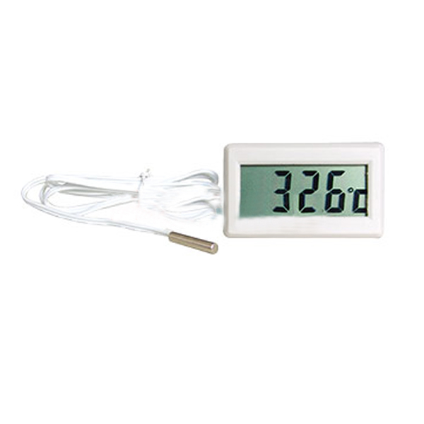 Termometro digitale con frigo acquario sonda caldaia da for Temperatura acquario