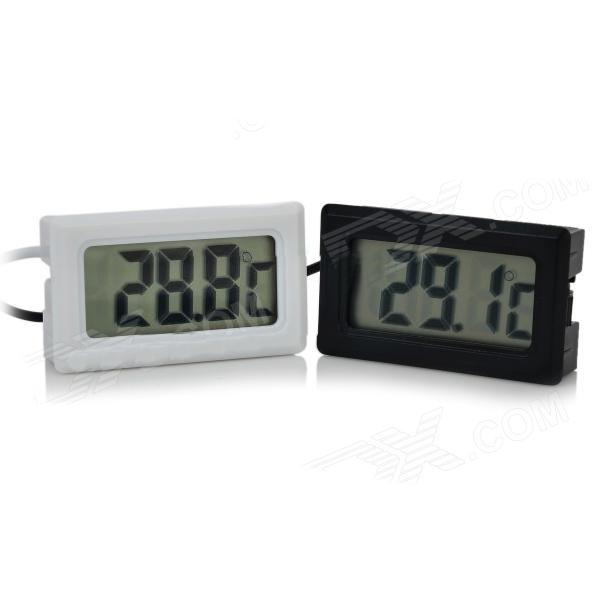 Con lcd digitale termometro 50 70 sonda per acquario for Temperatura acquario