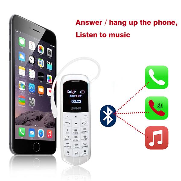 long cz j8 il piu piccolo telefono al mondo telefono smartphone bluetooth ebay. Black Bedroom Furniture Sets. Home Design Ideas