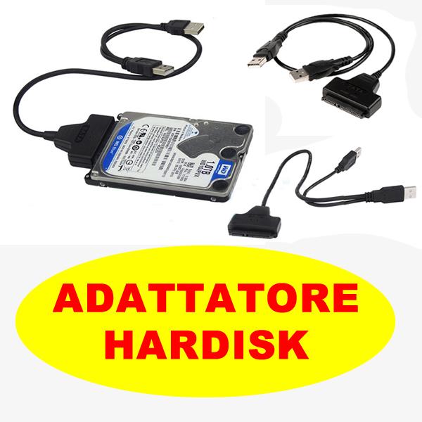 Usb 2 0 2 5 sata cavo adattatore esterno hard disk hdd - Hard disk esterno non letto ...